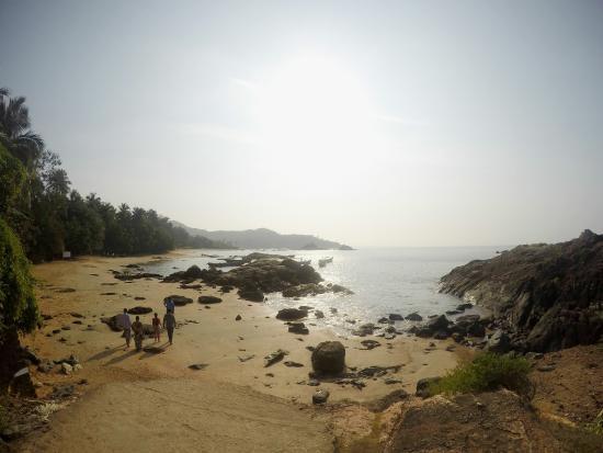 Om Beach Picture Of Namaste Cafe Gokarna Tripadvisor