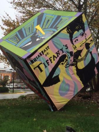Lancaster, Caroline du Sud : art cube
