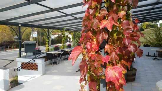 Campagne-sur-Aude, France: La terrasse