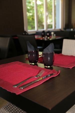 Campagne-sur-Aude, France: Restaurant