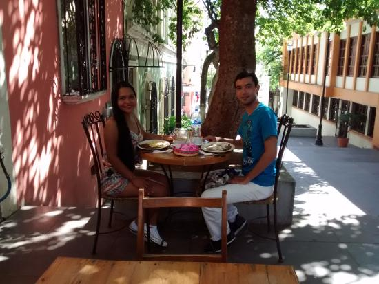 Cafe Antigua : Breakfast at Villahermosa