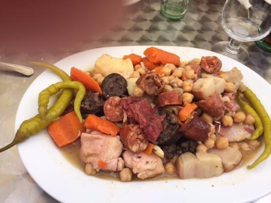 Cocido como aperitivo picture of casa luis pozuelo de alarcon tripadvisor - Casa luis pozuelo ...