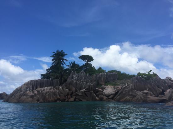 Praslin Island, Seychellerne: One of the many great views