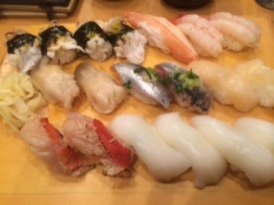 Sharizen Funabashiten: お好み寿司