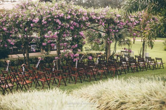 Tureck Garten Hotel: Area Para Casamentos