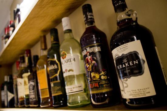 Powys, UK: Selection of Spirits