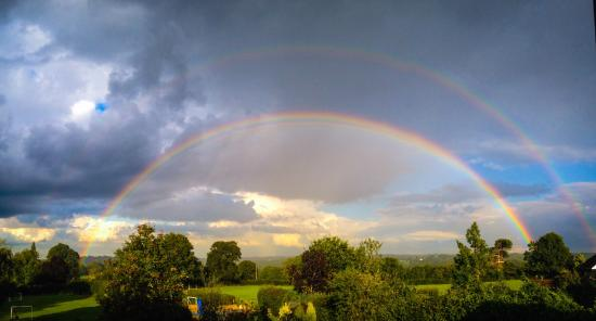 Cranbrook, UK: One Globe. Three Rainbows