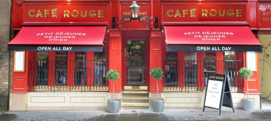 Cafe Rouge Cambridge