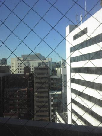 Hotel Hokke Inn Nihonbashi: 眺めが良い、とは言えませんが。
