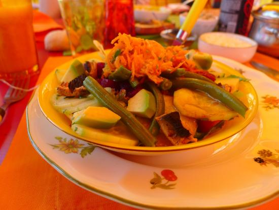 d tails salade picture of l 39 atelier cuisine marrakech