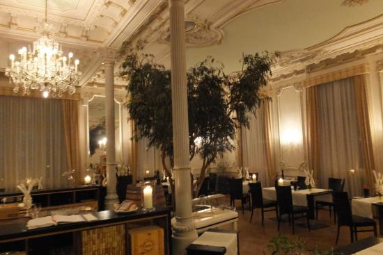 Kempinski Grand Hotel des Bains St. Moritz: Restaurant