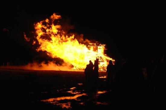 new year s eve in lftanes is an impressive experience bonfire by rh tripadvisor com