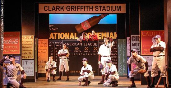 Forestburgh, estado de Nueva York: Damn Yankees 2015