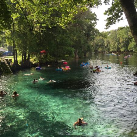 Ginnie Springs: Great times at Ginnie !!🚣