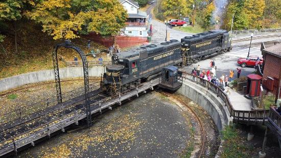 Cumberland, MD: Turntable in Frostburg