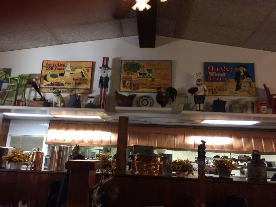 Original Pancake House: One of the displays