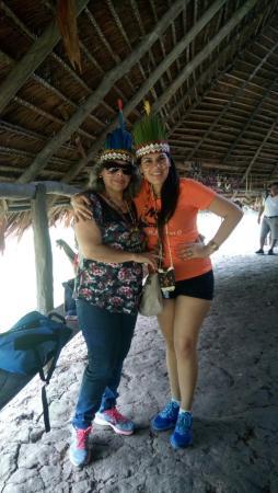 Dorado Express: en la visita a los bora bora