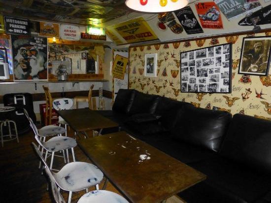 Garlic & Shots: Downstairs Bar