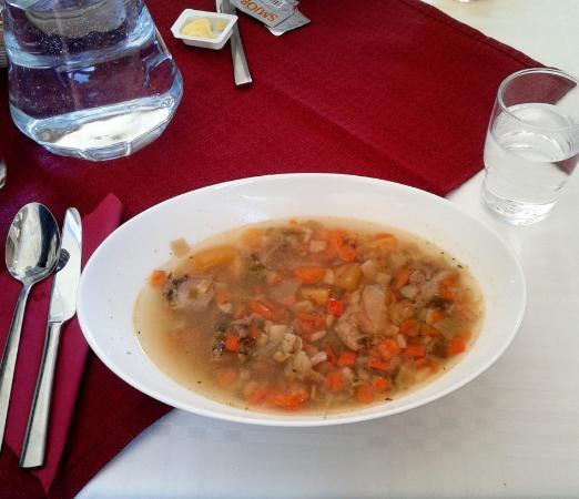 Vestmannaeyjar, Island: Icelandic lamb soup just like grandma did
