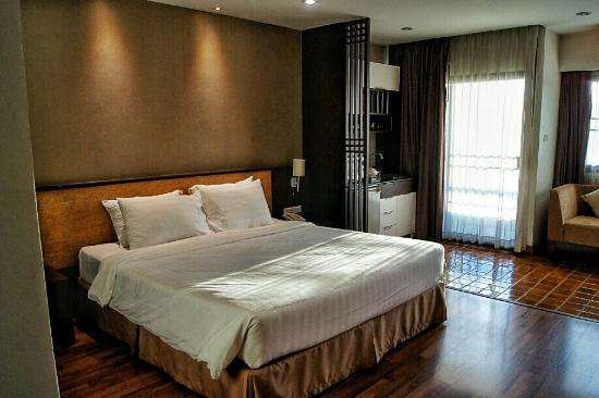 The Grand Napat: Excellent hotel with spacious room