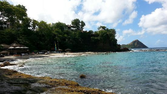 Cap Estate, Sta. Lucía: Beach area