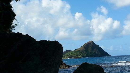Cap Estate, St. Lucia: Beach area