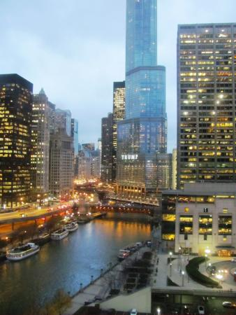 Sheraton Grand Chicago: The incredible view from my room