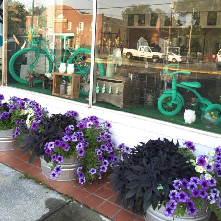 Berryville, VA: Teal bikes for Summer