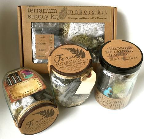 Berryville, VA: Make your own terrarium kits