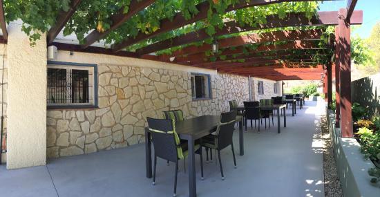Finca El Otero: Breakfast terrace