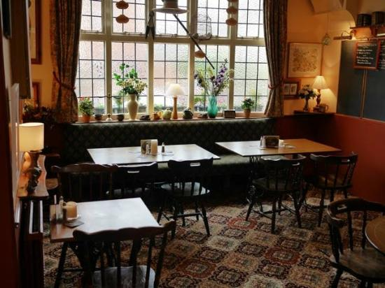 the dining room - picture of the white swan, sileby - tripadvisor
