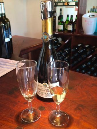 Robertson, Sudáfrica: Tasting at Bon Courage