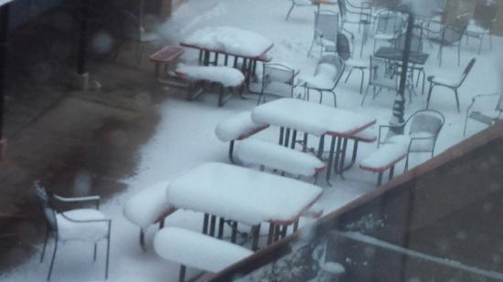 Tonopah, Νεβάδα: Unexpected Snow
