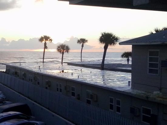 Seven Seas Resort : ocean view from the suite