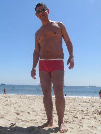 Monte Gordo Hotel Apartamentos & Spa: praia linda,  Monte Gordo, Algarve - Portugal