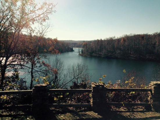 Pennyrile Forest State Resort Lodge: View from lodge