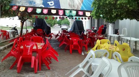 Jardim de Piranhas: Salão de festas