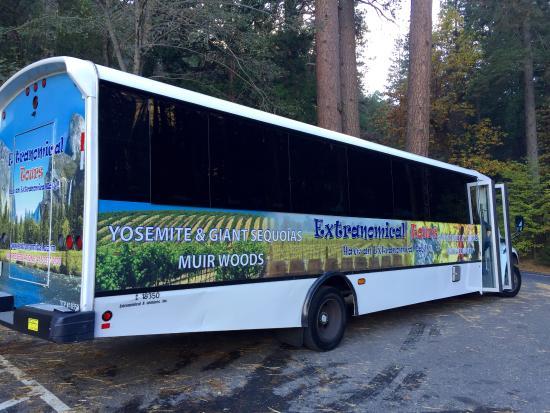 tour bus picture of extranomical tours san francisco tripadvisor. Black Bedroom Furniture Sets. Home Design Ideas