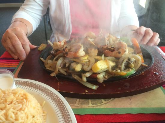 Long Beach Island, NJ: Shrimp Fajitas