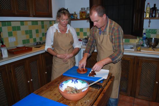 Finca Las Encinas : Great chef and great teacher!