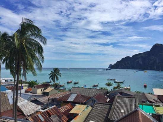 Phi Phi Hotel: View from our room