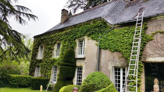 Cinq-Mars-la-Pile, France : La maison d'hôtes.