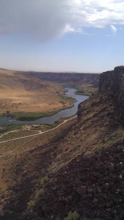 Snake River Canyon Seen from Dedication Point