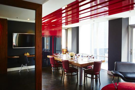 The Gotham Hotel: Penthouse Meeting Space