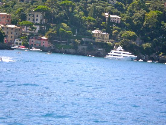 how to get to portofino italy from us