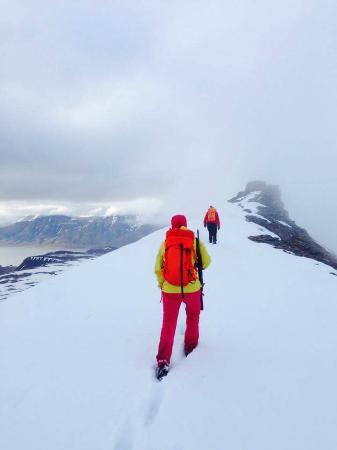 Svalbard Wildlife Expeditions: Hike to Trollsteinen