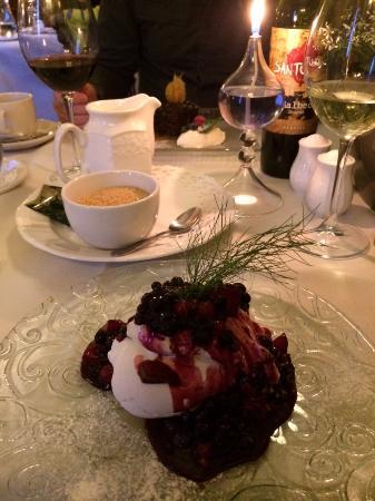 Alyth, UK: Dessert