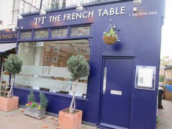The front of the restaurant photo de the french table for The french table 85 maple road surbiton surrey kt6 4aw