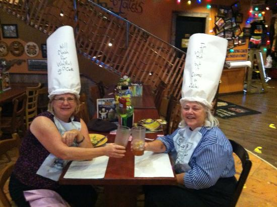 Funny hats! - Picture of Dick s Last Resort 0d768302f76
