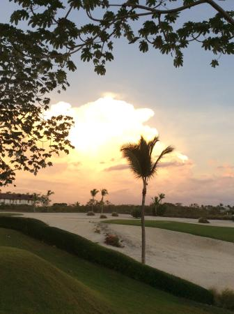 Cap Cana Oasis : Lovely sunset